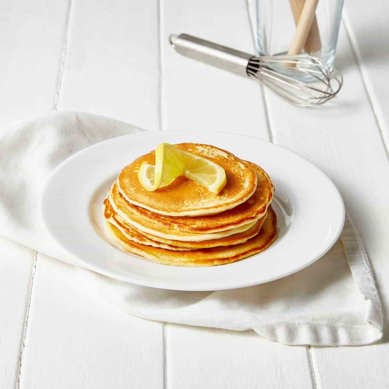 pancake proteici limone